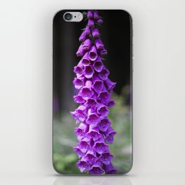 Woodland Foxglove iPhone Skin