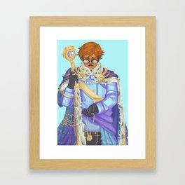 King Lucian Framed Art Print