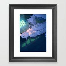James & Joel Framed Art Print