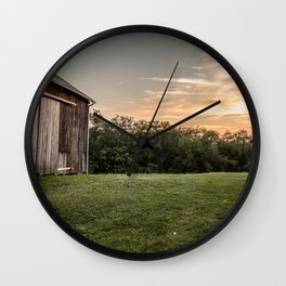 Pennsylvania Barn Wall Clock