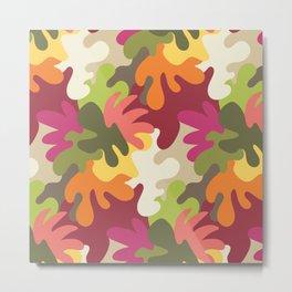 Spring Camouflage Metal Print