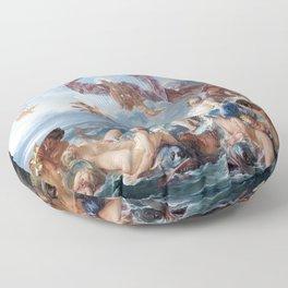 The Triumph of Venus - Francois Boucher Floor Pillow