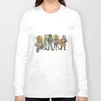 steampunk Long Sleeve T-shirts featuring Steampunk  by Felis Simha