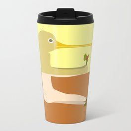 Pantless Project / ED Metal Travel Mug