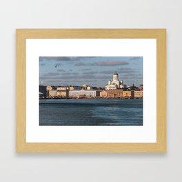 HELSINKI 01 Framed Art Print