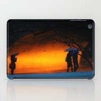 central park iPad Cases featuring Central Park by Nick Duarte