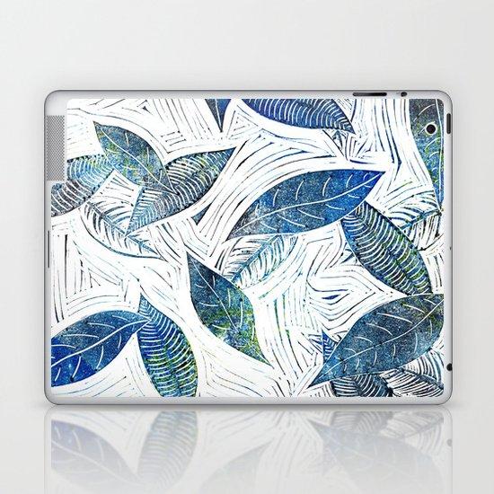 Blue Days of Winter Laptop & iPad Skin