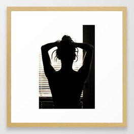 bodyscape III. Framed Art Print