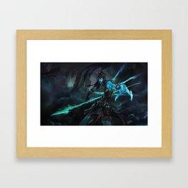 Classic Kalista League of Legends Framed Art Print