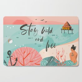 Stay Wild & Free Cutting Board