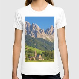 Italian Dolomites, South Tyrol Panoramic View T-shirt
