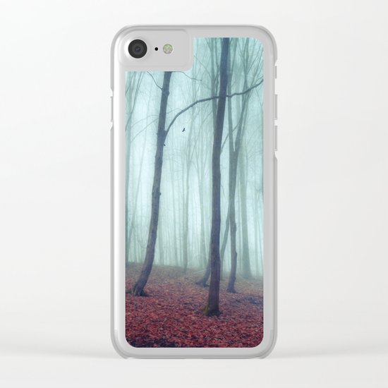 No Noize - Silent Forest Clear iPhone Case