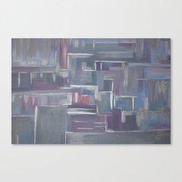 Silver Elegance Canvas Print