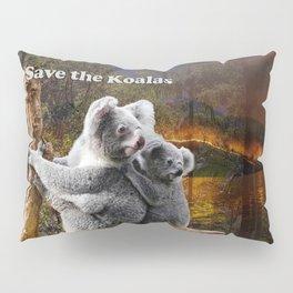 Save the Koalas Pillow Sham