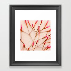 Buds Framed Art Print