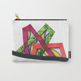 Synagogue Serendipity Geometric Architecture 76 Carry-All Pouch