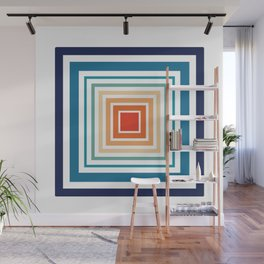 Square Biz Wall Mural