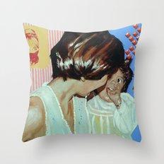 Pat Joy Throw Pillow