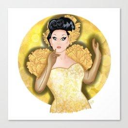 Golden BenDeLaCreme Canvas Print