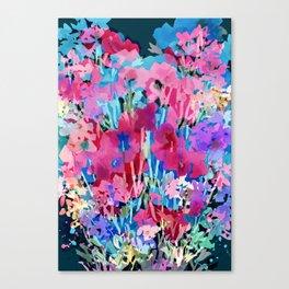 Red Poppy Evening Canvas Print