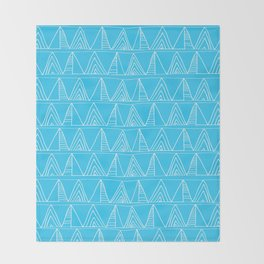 Triangles- Simple Triangle Pattern for hot summer days - Mix & Match Throw Blanket