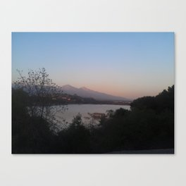 The Eerie Lake Canvas Print