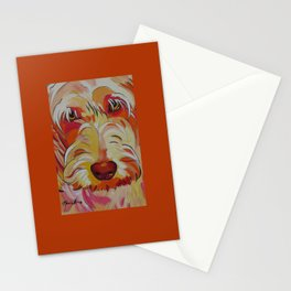 Labradoodle Pop Art Dog Stationery Cards