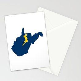 West Virginia Climbing Stationery Cards