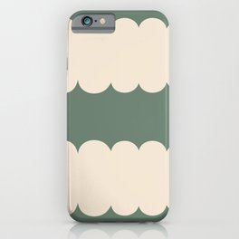 My Humps - Green and Beige iPhone Case