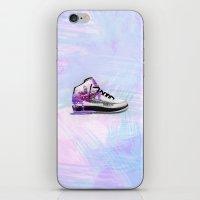 air jordan iPhone & iPod Skins featuring Air Jordan 2 - Stressed by dortizdesigns