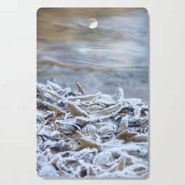 Winter leaves by the River Trebbia Cutting Board