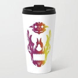 Bloody Sugar Skull Alt Travel Mug
