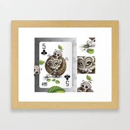 Small but Dangerous / Cards for my arts Framed Art Print