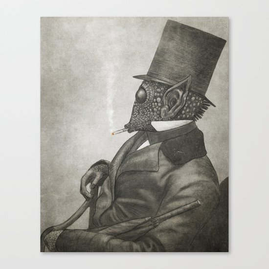 The Earl of Eisley  Canvas Print