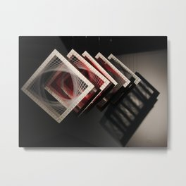 Janus Face Passages Metal Print