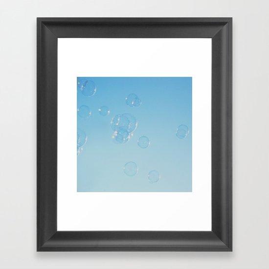 . feels like Summer .  Framed Art Print