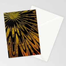 Native Tapestry in Gold Stationery Cards
