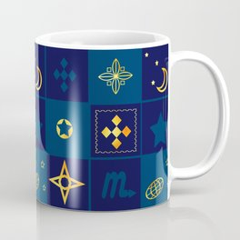 Night Waltz of the planets. Coffee Mug