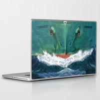 terminator Laptop & iPad Skins featuring Terminator by Anthony M. Davis