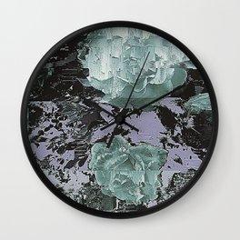 Soft Roses Wall Clock
