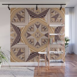 Cross of Triangles Wall Mural