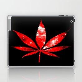Weed : High Times red Galaxy Laptop & iPad Skin