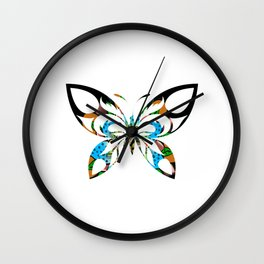 Butterfly 233 Wall Clock