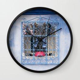 Window Wash Wall Clock