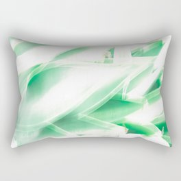 oh so green Rectangular Pillow