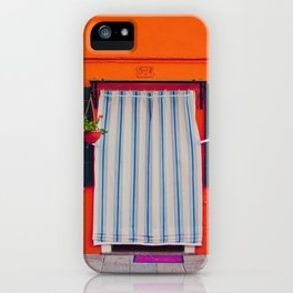 Burano X iPhone Case