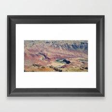 CANYON RIVER Framed Art Print