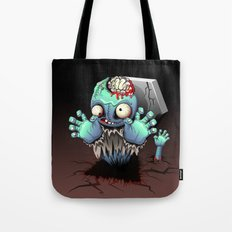 Zombie Monster Cartoon Doll Tote Bag
