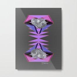 magic rabbit (rabbit & hare series) Metal Print