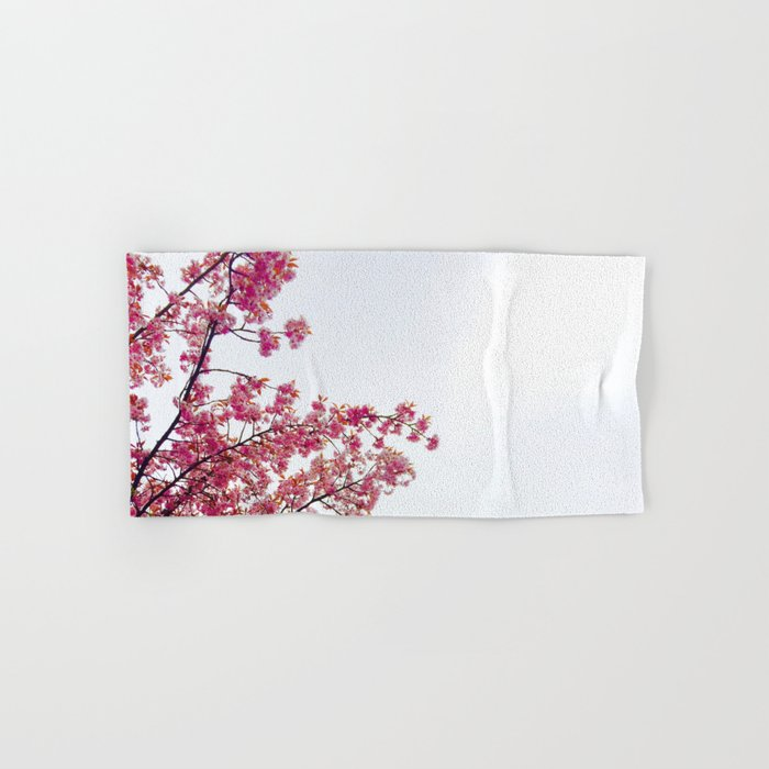 watercolor bloom Hand & Bath Towel
